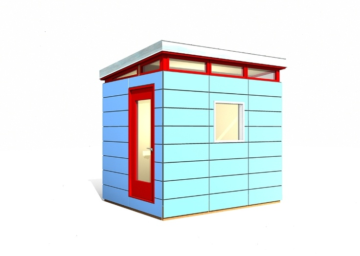 Backyard Man Cave Kits :  Backyard Office, Man Cave, Prefab Shed, Prefabricated Shed, Storage