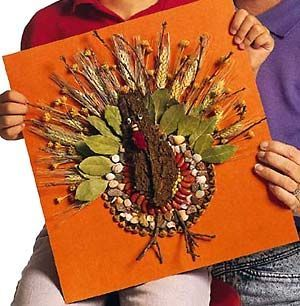 thanksgiving art by kids | Thanksgiving Turkey Art Project for Kids | holiday projects