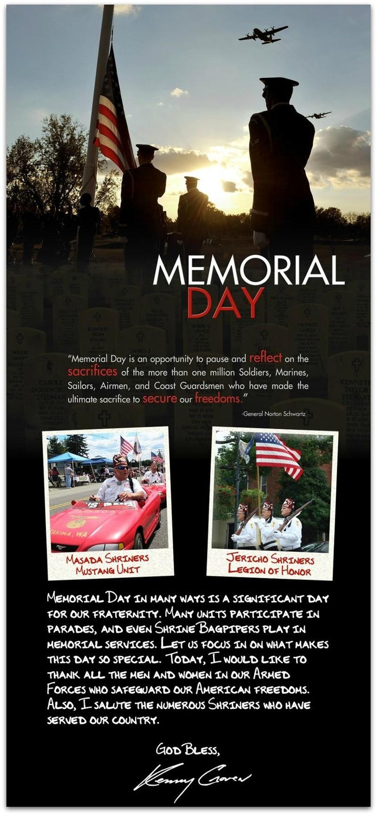 memorial day is there mail