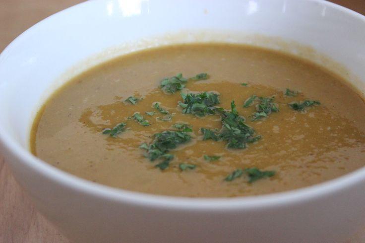 Spicy Sweet Potato Red Lentil Soup | Soups & Stews | Pinterest