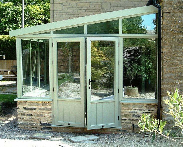 Lean to conservatory extension ideas pinterest for Lean to extension ideas