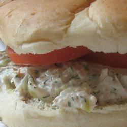 Barbie's Tuna Salad Allrecipes.com with fresh dill, Parmesan and I ...