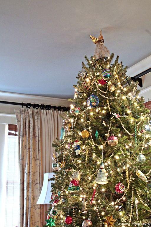 vintage tree ornaments | Celebrate Christmas | Pinterest