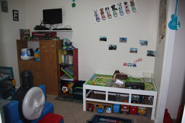 gages train area kids room house ideas pinterest