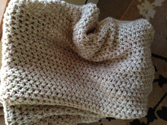 Crochet Patterns For Thick Blankets : Chunky Crochet Blanket Lets get CRAFTY Pinterest
