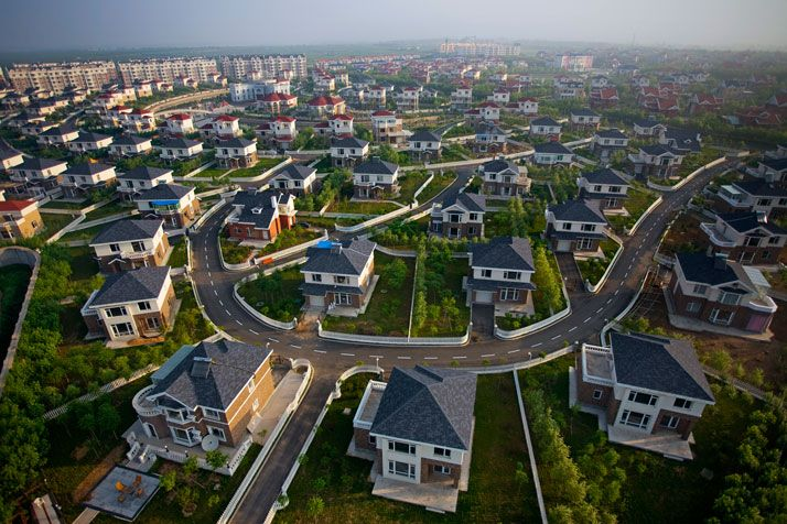 China´s ghost towns