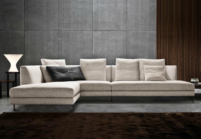 Allen Sectional Sofa Www Minotti Com Furniture Pinterest