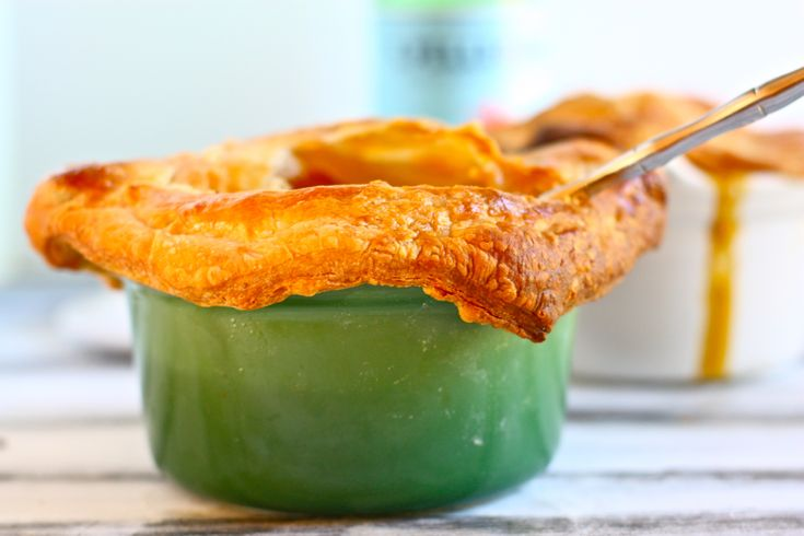 winter vegetable pot pies | I Have A Food Problem | Pinterest