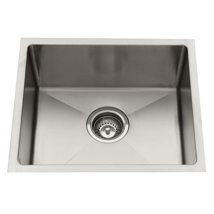 179 Sink Squareline Everhard 450x390mm Sgl Undermount 73148 - Bunnings ...