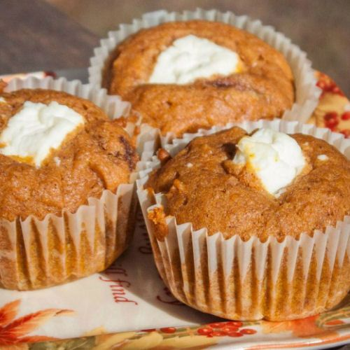 Pumpkin Cream Cheese Muffins | For My Sweet Tooth | Pinterest