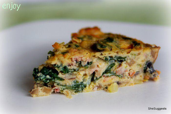 Crustless Quiche (gluten-free) | Food - Mains/ Entrees | Pinterest
