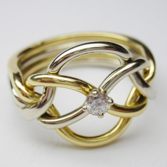 4 ring puzzle ring instructions