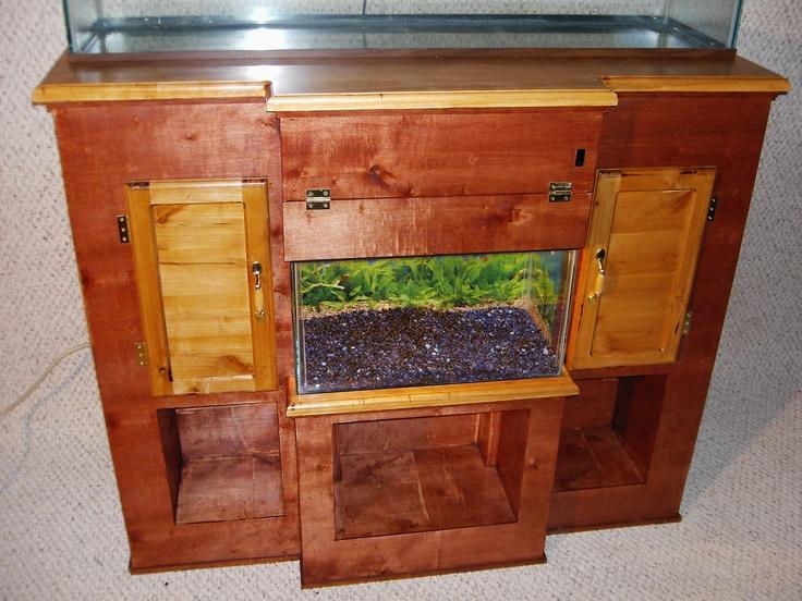 fish tank decor ideas fish tank decor ideas with book storage Book ...