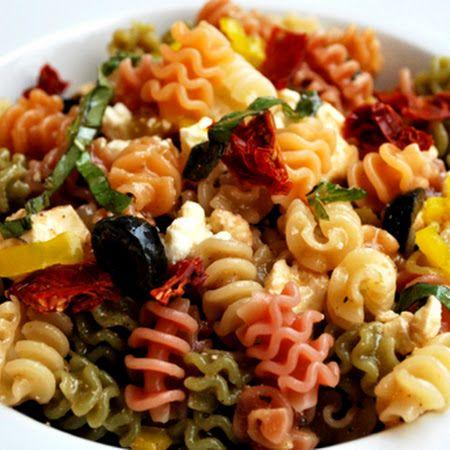 Mediterranean Pasta Salad | mouth-watering | Pinterest