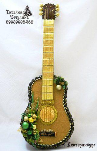 Сделать гитару своими руками сувенир 55