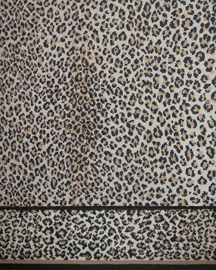 stark carpet leopard wall to wall girly interiors