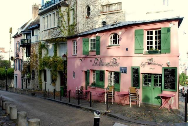 Pin by on restaurants in paris pinterest for La maison rose lourmarin