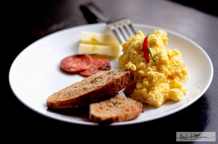 Perfect scrambled eggs | Favorite Recipes | Pinterest