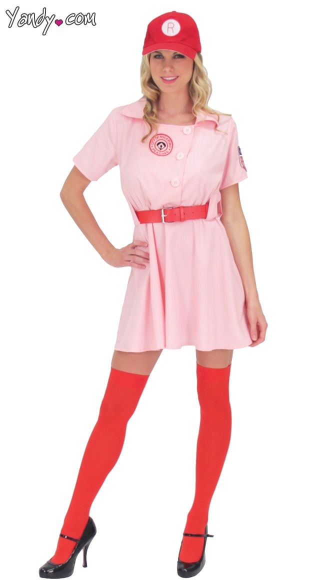 Deluxe City of Rockford Peaches Costume, A League of Their Own Costume ...