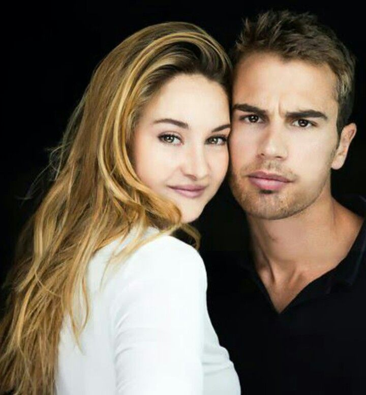 Shailene Woodley and Theo James Umm... PERFECT! I still think Shailene is still a little too pretty to be Tris though. I love Theo as Four/Tobias(whatever you prefer to call him)