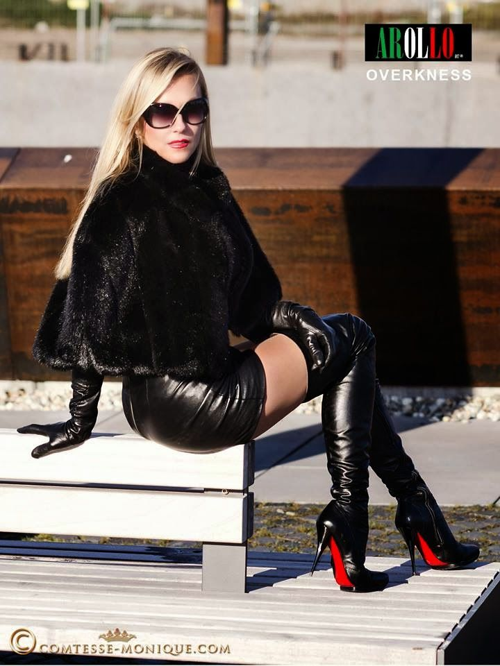 Comtesse monique arollo leather boots sexy in leather pinterest