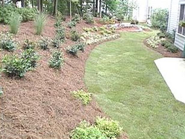 Landscaping Ideas For Uneven Yard : Landscape for a sloped yard uneven ideas