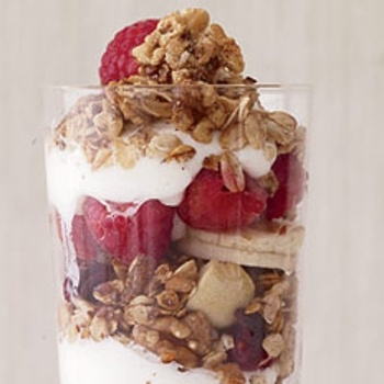 Cranberry Almond Granola Parfaits Recipes — Dishmaps