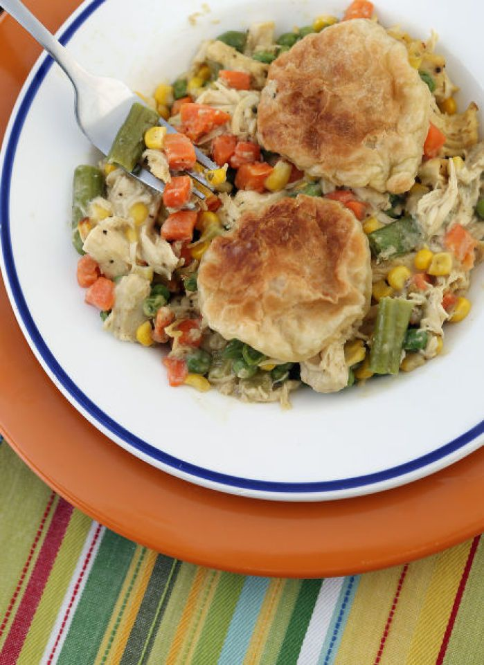 Alton Brown's Curry Chicken Pot Pie : Lifestyles