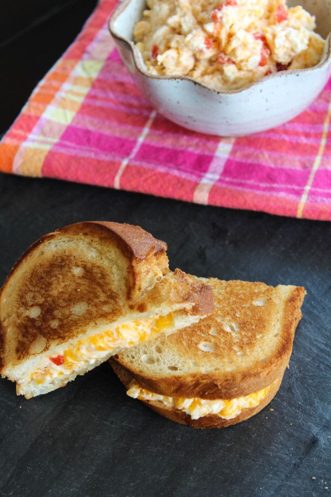 Pimento Cheese Grilled Cheese 2 | Bites of Bri