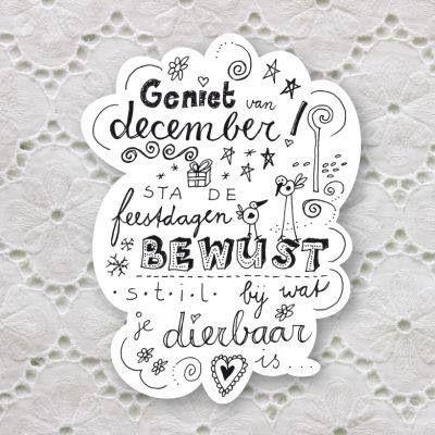 december feestdagen | I Love - Nederlandse Quotes/Citaten | Pinterest