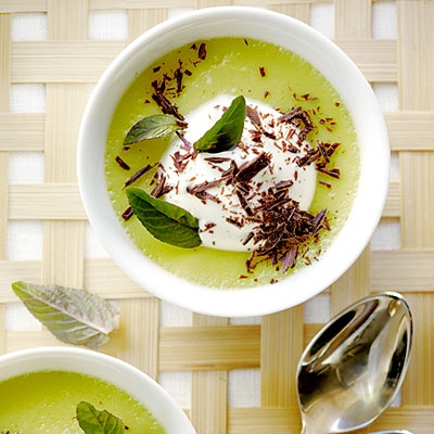 Dying for Chocolate: Chocolate Mint Pots de Creme