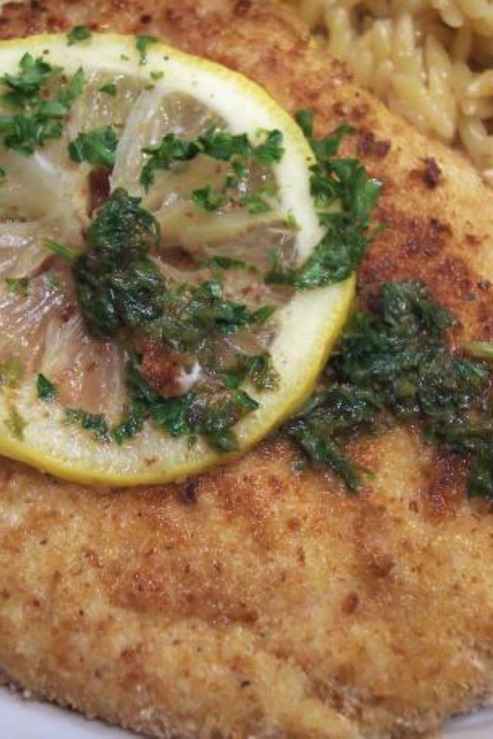 Chicken Scaloppine With Lemon Glaze (Low Fat and Delicious!) | This is ...
