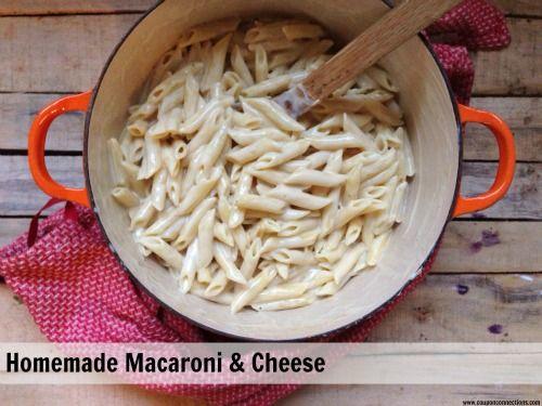 Homemade Macaroni and Cheese (lighter version)