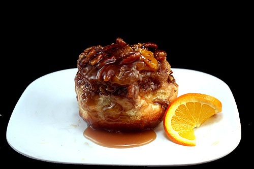 Pecan Sticky Buns With Orange And Bourbon Glaze Recipes ...