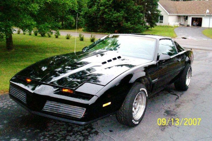 1982 pontiac trans am kitt muscle cars pinterest. Black Bedroom Furniture Sets. Home Design Ideas