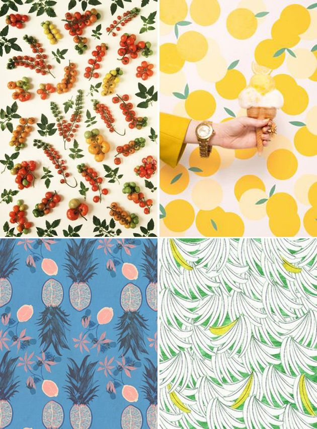 From Runway to Room: Fruit Patterns