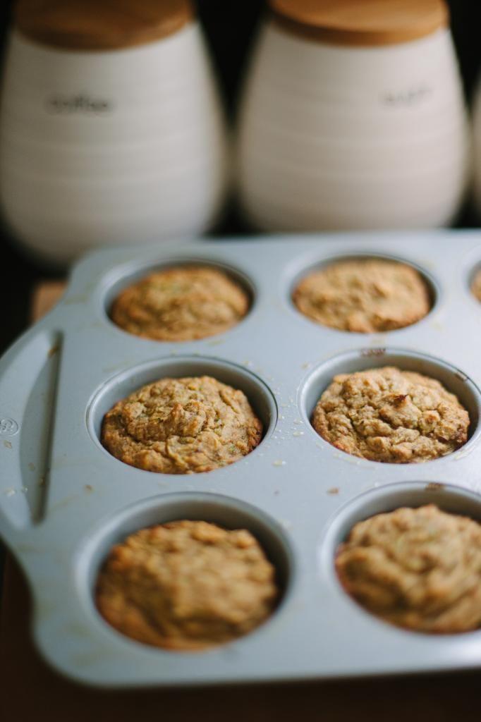 Roasted Banana Zucchini Muffins (GF) | Cupcakes | Pinterest