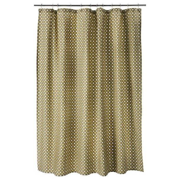 Threshold™ Circle Shower Curtain - Yellow/Gray Marble (19.99) Cute ...