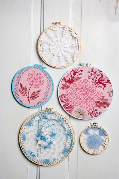 Embroidery hoop wall hanging crafty pinterest