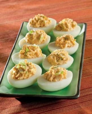 Thai Red Curry Deviled Eggs | Recipes | Pinterest