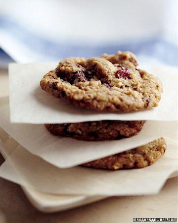 Cherry Chocolate-Chunk Cookies | Yummy | Pinterest