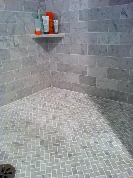 Chevron Tiled Floor A B O D E Pinterest
