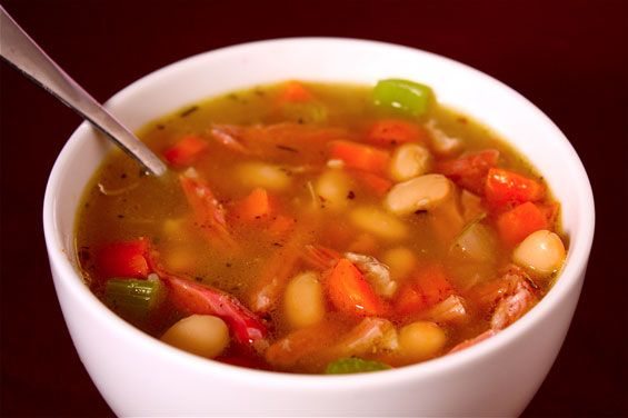 white-bean-and-ham-soup