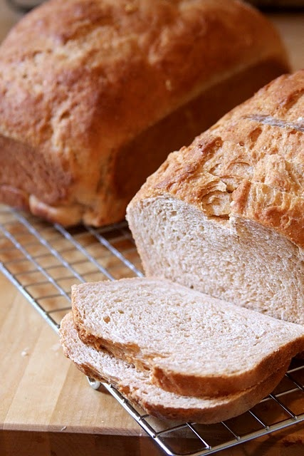 Honey Whole Wheat Bread | Give us this day our daily bread | Pinterest
