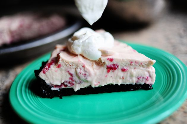 Raspberry Cream Pie- I'm pretty sure I love anything with raspberries