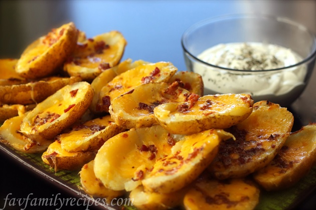 Cheesy Potato Skins | Recipes Worth Trying | Pinterest