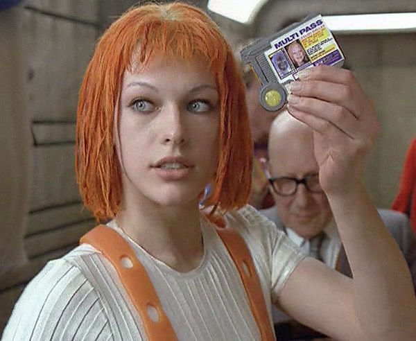 Lilu from 5th Element. Multipass! | Movie Time | Pinterest