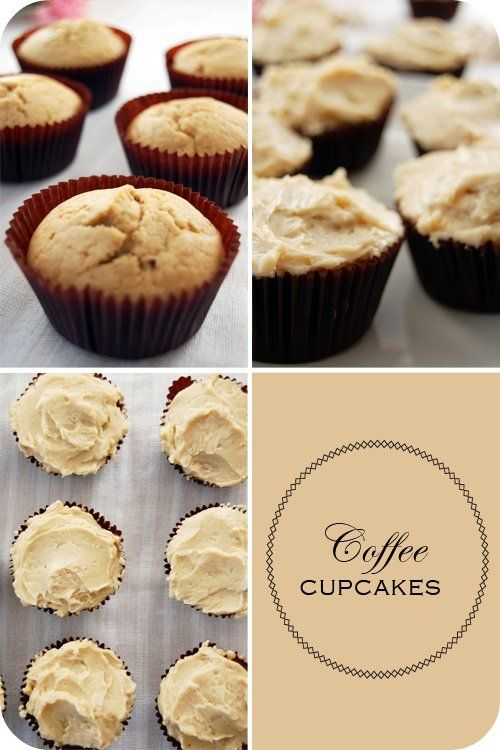 coffee cupcakes.