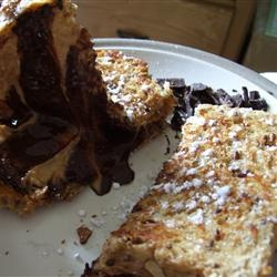 Peanut Butter Cup Grilled Sandwich Allrecipes.com