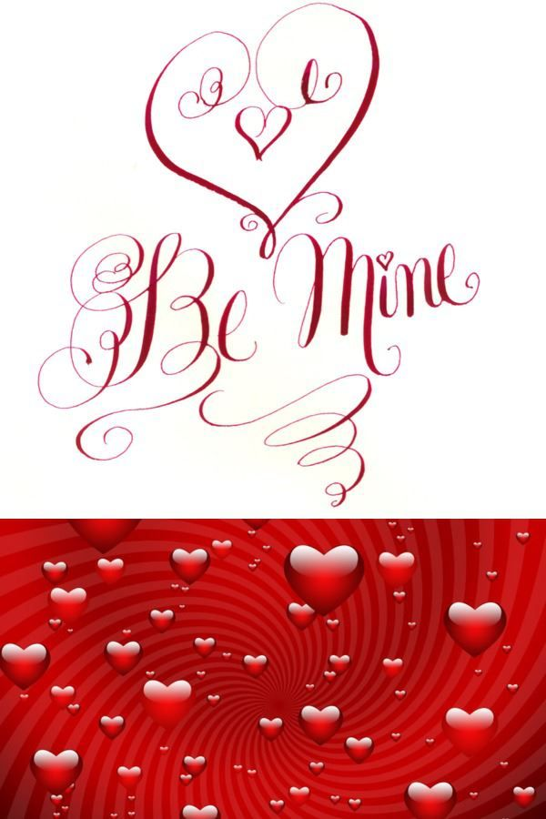valentine's day fonts word